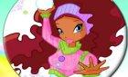 Winx Club игра новогодний пазл (винкс games)