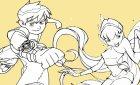 Винкс Игра Стелла и Бен 10 раскраска (winx games)
